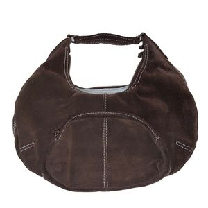 Gap Brown Suede Boho Shoulder Bag